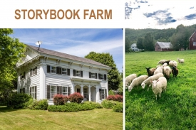 STORYBOOK FARM: Charming & Historic Property - c. 1840 Beautifully RENOVATED w/ New ADDITION