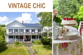 A VINTAGE-CHIC FARMHOUSE - ABSOLUTELY CHARMING FARMHOUSE