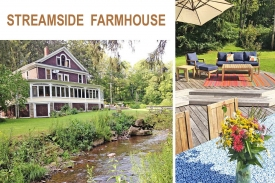 1907 RESTORED FARMHOUSE - 1907 Restored FARMHOUSE -- Entertaining SUN-DEK